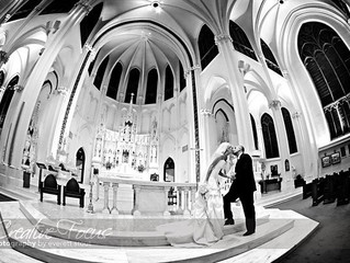 Downtown Cathedral Wedding
