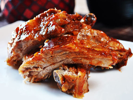 Whiskey Glazed Ribs