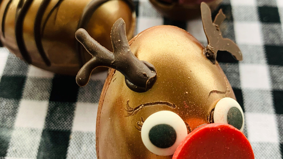 Rudolph Hot Cocoa Bombs