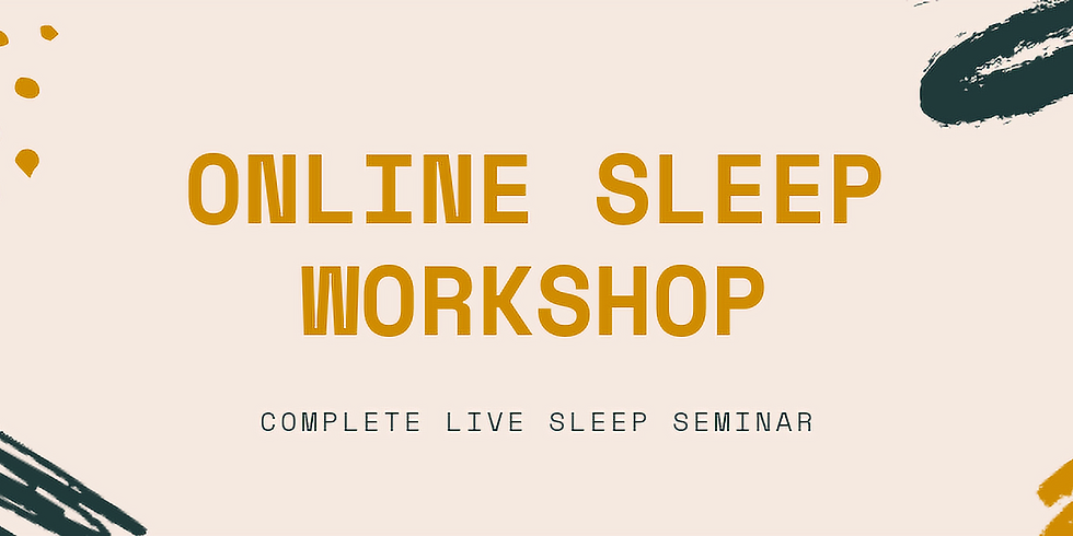 Online Baby Sleep Seminar