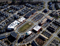 Southern Village Aerial Image