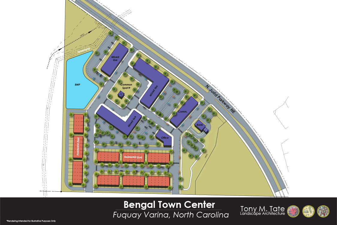 Bengal Town Center Rendering