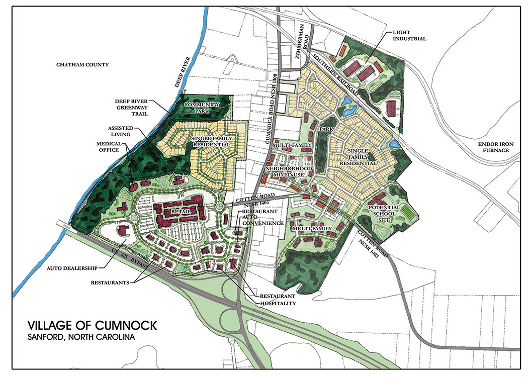 Village of Cumnock Rendering