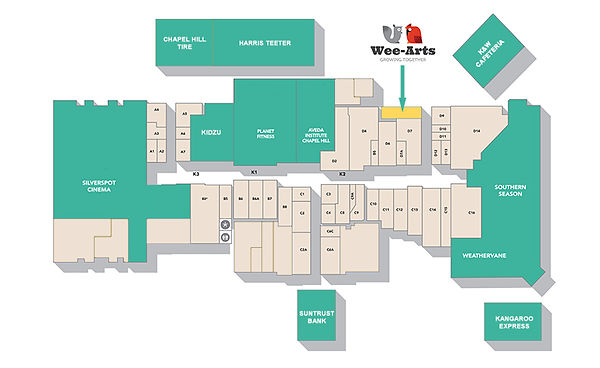 University Mall Map, WeeArt, Music, Children, Song, Camp