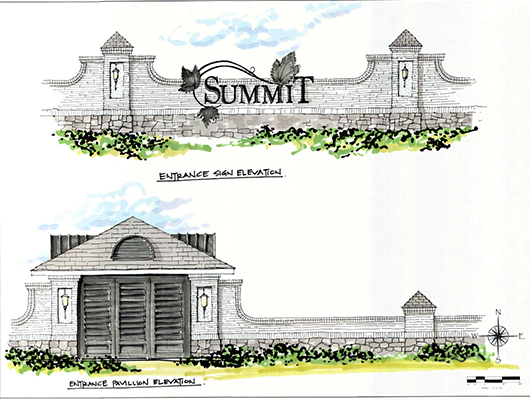 Summit Signage Sktech
