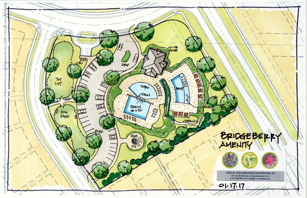 Bridgeberry Amenity Rendering
