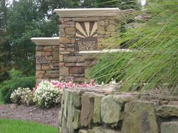 Sunset Ridge Entrance