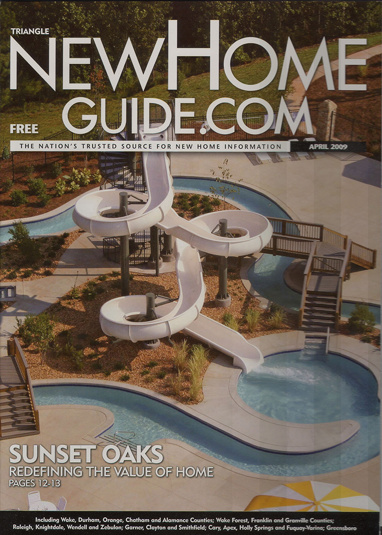 New Home Guide Cover - Sunset Oaks