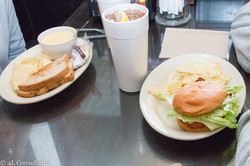 Combo and Grilled Chicken Sandwich