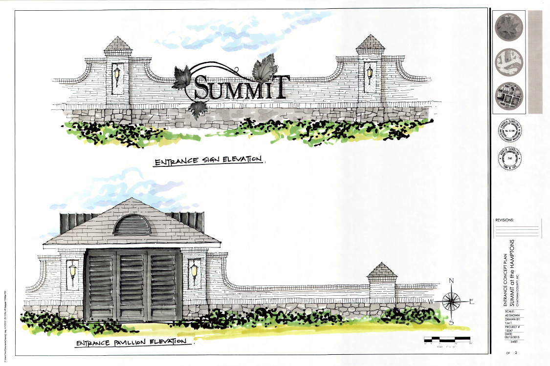 Summit Entrance Rendering