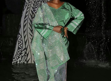 Blingshiki left the audience wanting more at African Fashion Week Nigeria's 2-day iconic catwalk