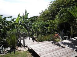 escalier jardin Kazàmath