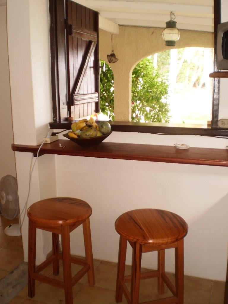 Comptoir bar les 3 cocotiers
