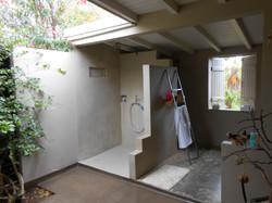 Grande salle de bain ouverte