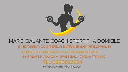 Marie-Galante COACH SPORTIF