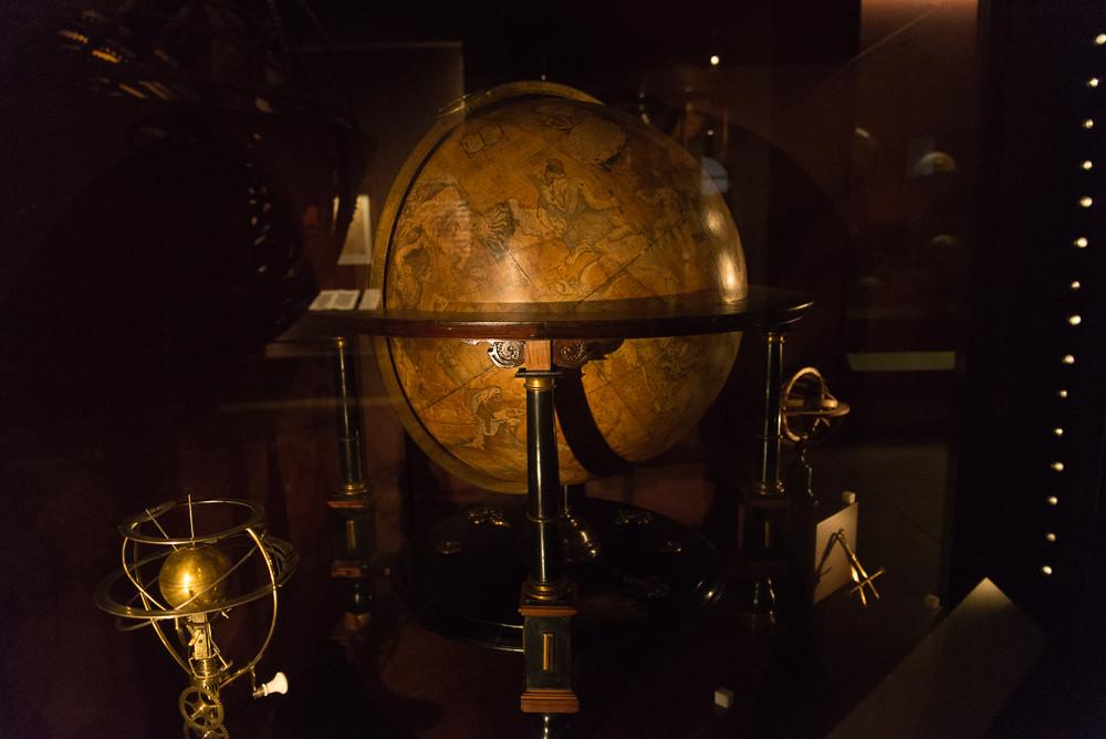 Celestial Globe at the Museo Galileo