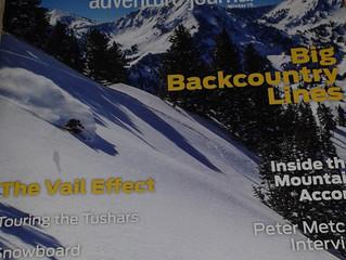 Write up in Utah Adventure Journal