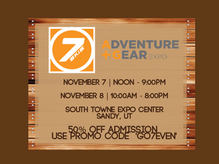7even at the Utah Outdoor Adventure Gear Expo