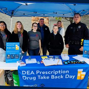 Fall 2019 Medication Safety Drug Take-Back Event at Walmart Supercenter in Branson