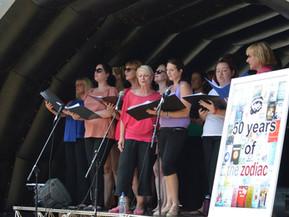 The Zodiac perform at Frodsham Festival