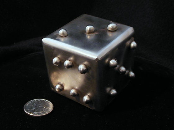 "2"" Welded Stainless Steel Lumpy Dice"