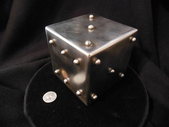 "4"" Stainless Steel Lumpy Dice"
