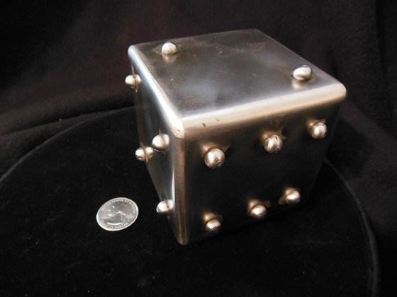 "3"" Stainless Steel Lumpy Dice"