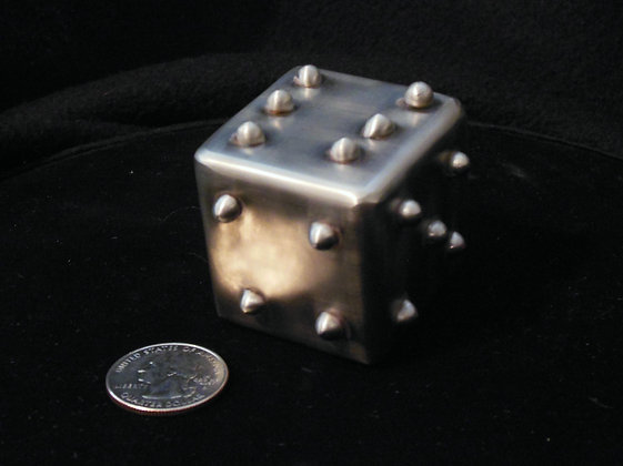 """1.5"""" Welded Stainless Steel Lumpy Dice"""