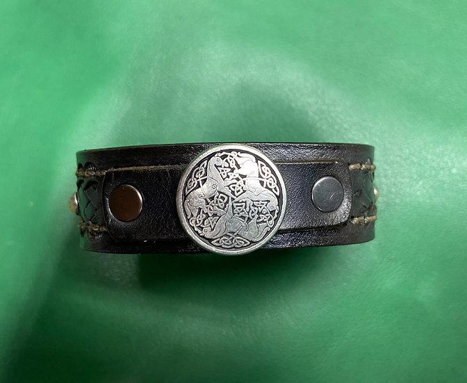 """3/4"""" Celtic Bracelet size 7.5-8"""