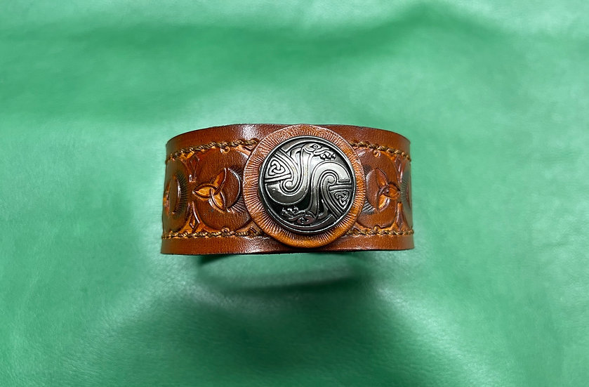 """1 1/4"""" Celtic Bracelet size 8.5 - 9"""