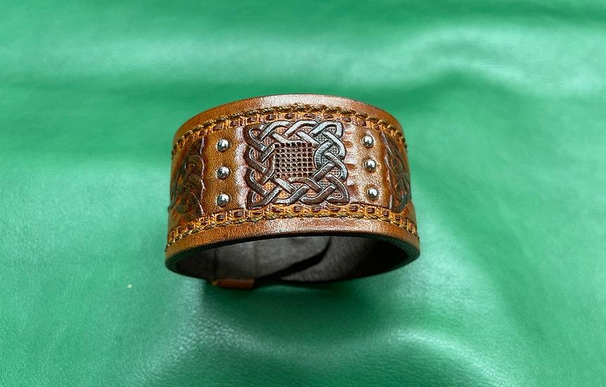 """1 1/2"""" Celtic Bracelet size 8 - 8.5"""