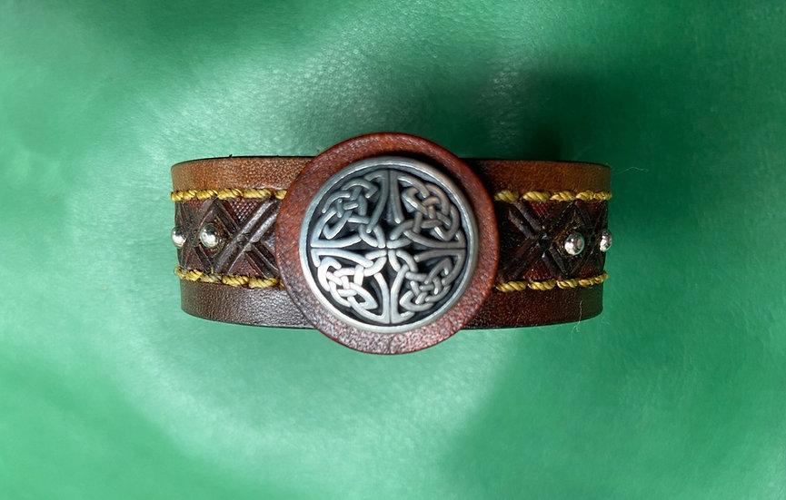 """3/4"""" Celtic Bracelet size 6.5 - 7"""