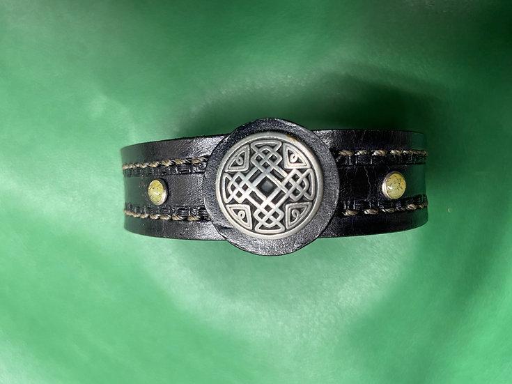 """3/4"""" Celtic Bracelet size 8.5 - 9"""