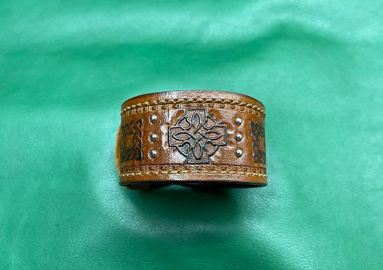 """1 1/2"""" Celtic Bracelet size 7 - 7.5"""