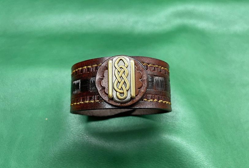 """1 1/4"""" Celtic Bracelet size 8 - 8.5"""