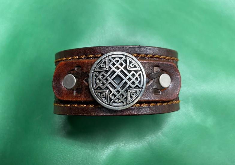 """1 1/4"""" Celtic Bracelet size 7.5 -8"""