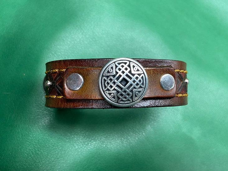 """3/4"""" Celtic Bracelet size 7.5 - 8"""