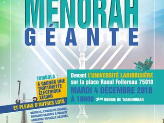Hanouccah 5779 avec le Loubavitch Bichat-Larib !