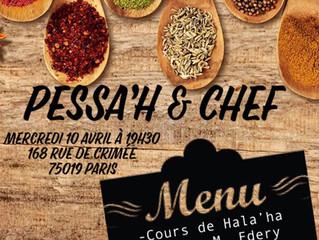 Pessa'h & Chef !