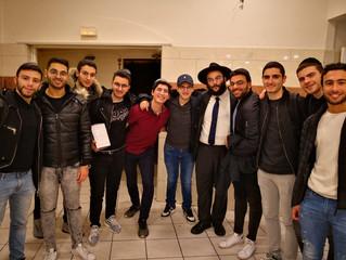 Hanouccah 5779/2018 au Loubavitch Bichat-Larib
