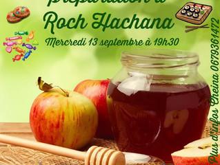 Soirée de préparation à Roch Hachana pour les étudiantes !