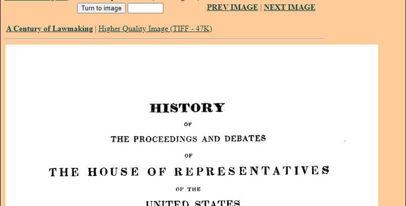 History of the Congressional Record