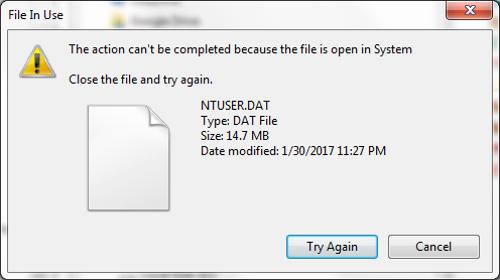 FTK Imager - Copying Protected Registry Files