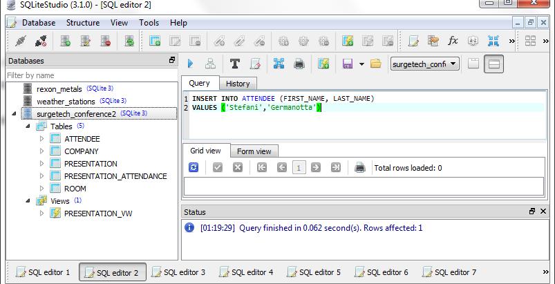 SQL - Managing Data