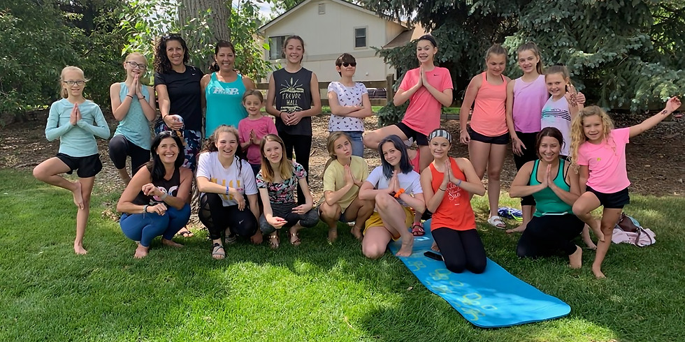 Yoga in the Park (5-10 yrs)