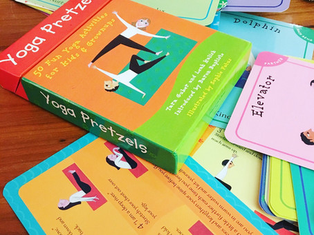 Kids Yoga Tools -> #7: Yoga & Mindfulness Activity Cards