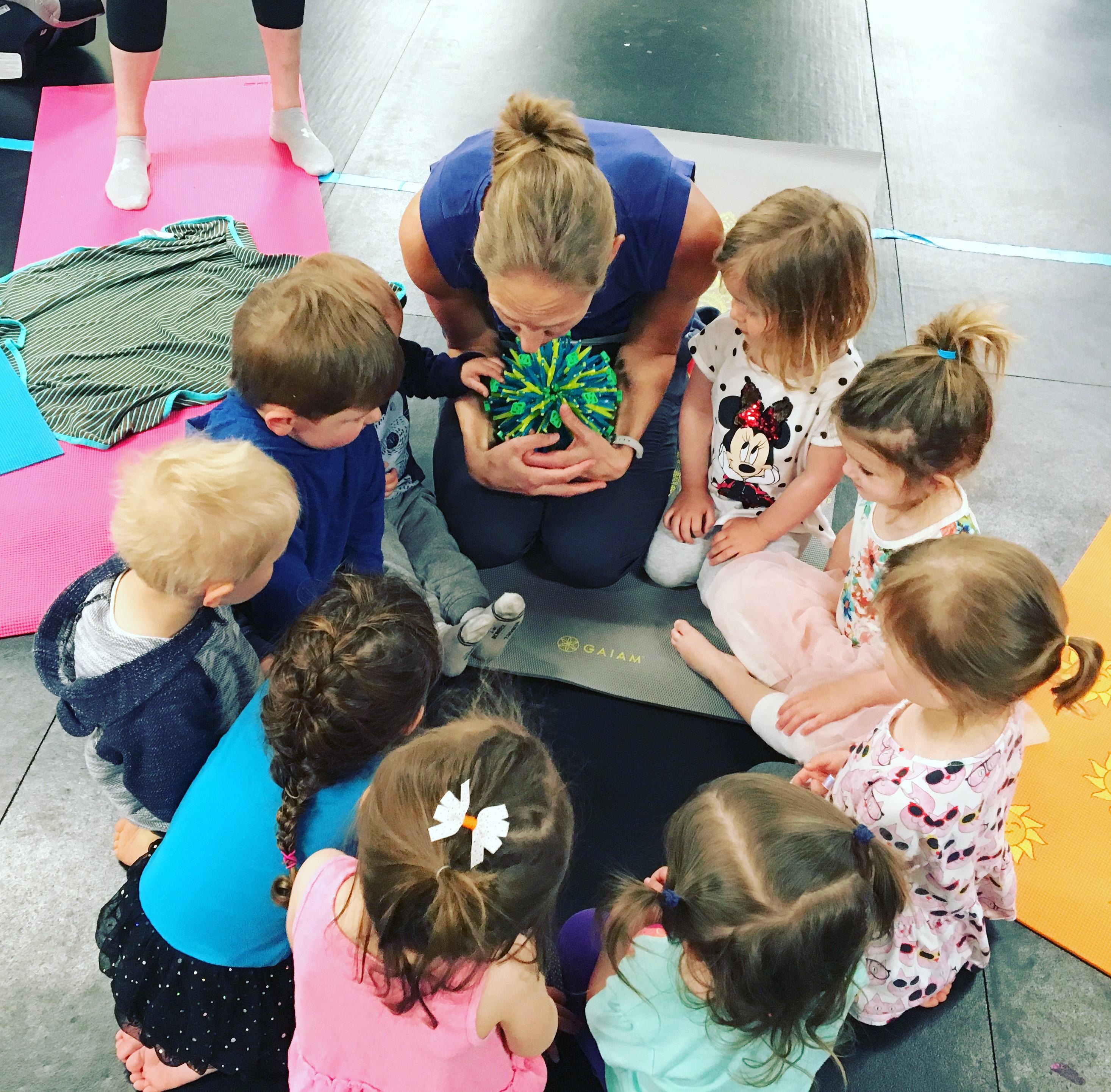 Caregiver & Me Kids Yoga