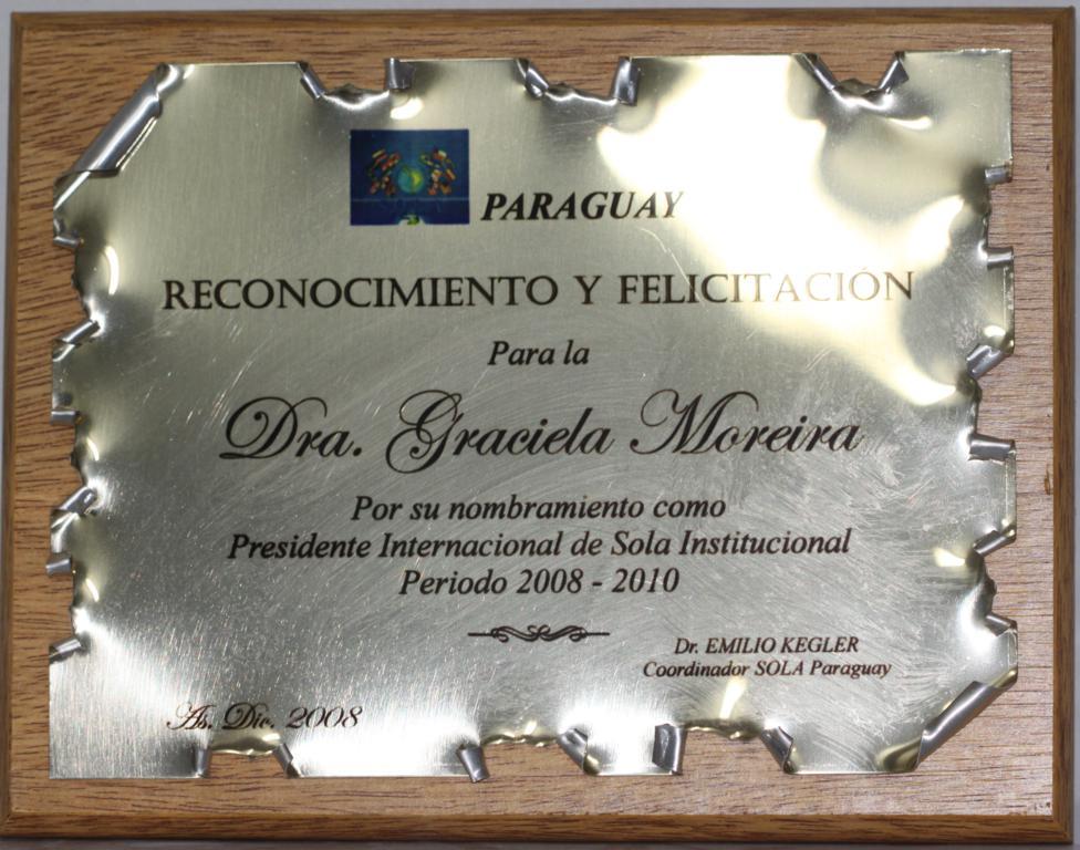Presidente Internacional SOLA