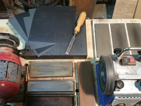 A guide to sharpening woodworking tools