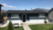 Exterior painting in Kamloops, B.C. Stucco house painting